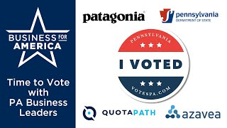 Time to Vote: A Guide for Pennsylvania Business