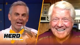 Jimmy Johnson talks the 2021 QB draft class, Sam Darnold & importance of pro days | NFL | THE HERD