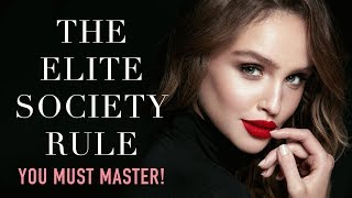 To Enter The Elite Society - YOU NEED TO GET THIS RIGHT!