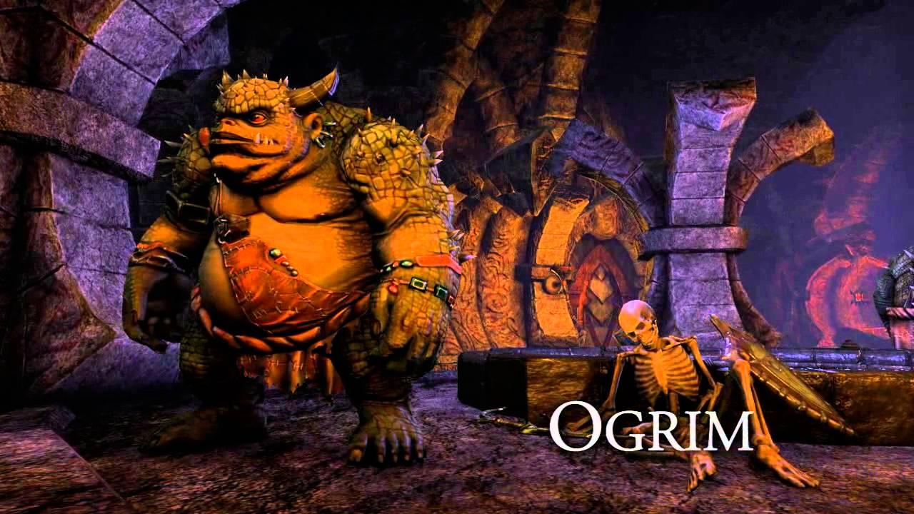 Elder Scrolls Online: видео - Создавая ESO: Огрим