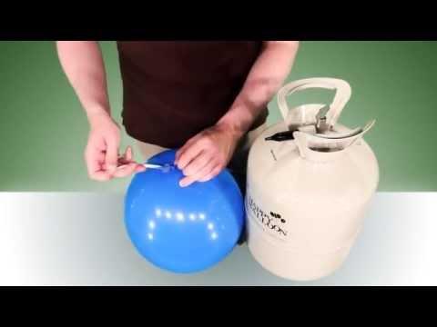 100791 Ballons mit Helium befüllen Anleitung