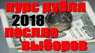 КУРС РУБЛЯ 2018 ПОСЛЕ ВЫБОРОВ Президента в России