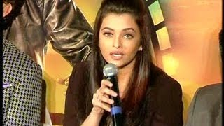 Aishwarya gets angry when a Reporter asked - are losing your