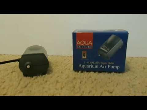 PRODUCT REVIEW – Aqua Culture Aquarium Air Pump