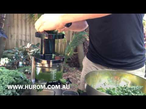 The World's Best Kale Juicer?