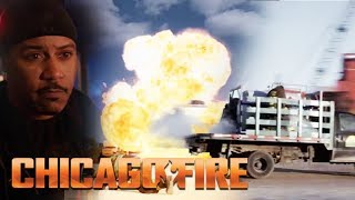 Chemical Truck On The Brink Of Explosion | Chicago Fire