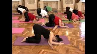 Смотреть онлайн Йога для начинающих: упражнения для пожилых женщин