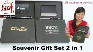 Souvenir Gift Set 2 in 1 Gift Set Promosi