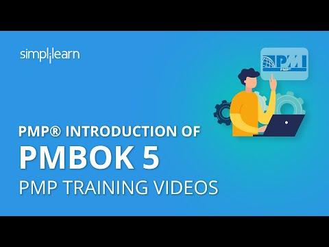 PMP® Introduction of PMBOK 5 | PMP Training Videos | PMP ...