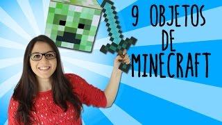 9 objetos de Minecraft que puedes hacer en tu casa (RECOPILACIÓN)