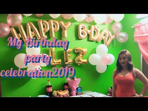 My birthday party celebration dubai