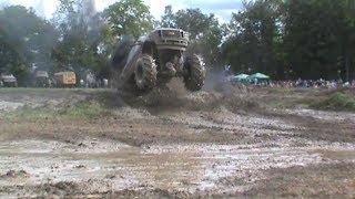 Mega Mud Truck Action At Barnyard Boggers Mud Bog PT 2