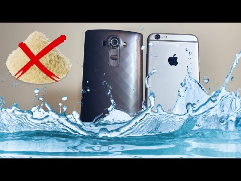 What To Do If Your Phone Fell In WATER/SALT WATER/SOLUTIONS