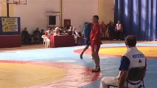 Победа в схватке Япрницева Владимира Геннадьевича  болевым на руку .