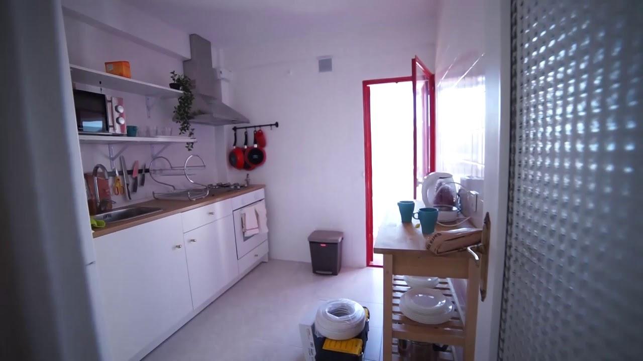 Single Bed in Rooms for rent in sleek 4-bedroom apartment in Ciudad Lineal