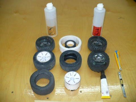 ремонт колес rc-модели 2 способа