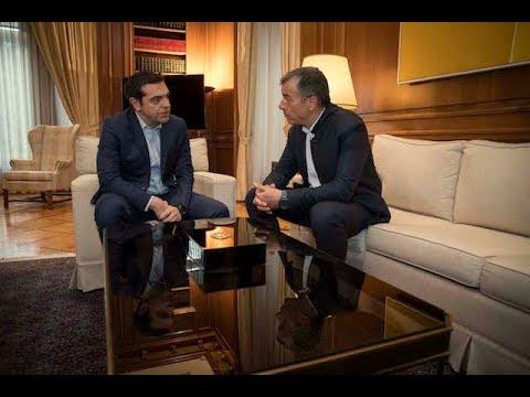 Συνάντηση με τον επικεφαλής του Ποταμιού κ. Σταύρο Θεοδωράκη