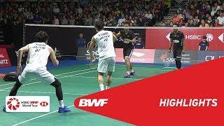 Singapore Open 2019 | Finals MD Highlights | BWF 2019