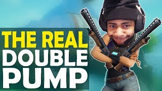 THE REAL DOUBLE PUMP | GOOD OR DOODOO?  | I MISS YOU BABY- (Fortnite Battle Royale) | Kholo.pk