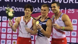preview picture of video 'High Bar Final in FIG ART Gymnastics Challenge Cup Doha'