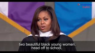 Michelle Obama Commencement Address at City College of New York