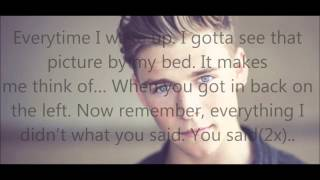 Christopher: we should be - with lyrics.