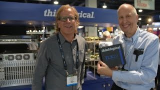 Thinklogical KVM Extenders on display at the 2017 NAB Show in Las Vegas