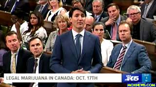 "PM Trudeau Says Marijuana Will Be ""Officially"" Legal In Canada On October 17, 2018"