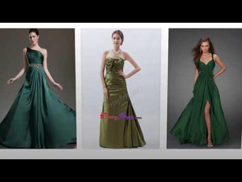 Abendkleid grün, schöne lange abendkleider