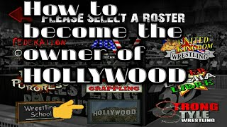 HOW TO BECOME THE OWNER OF HOLLYWOOD IN WR3D