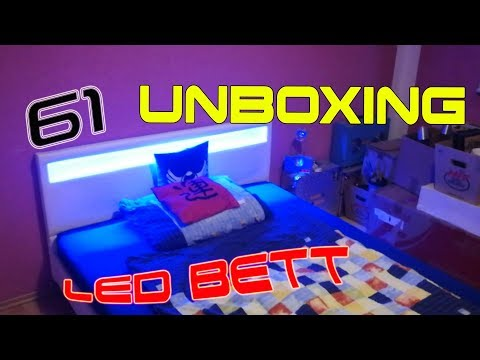U n B o X i n G 🎁 #61 LED BETT NEW WEISS