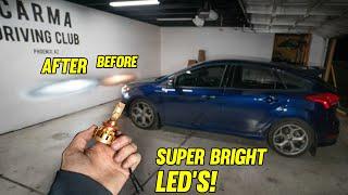 Ford Focus ST LED Lights (SUPER BRIGHT!)