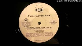Funkmaster Flex - Wu-Tang Cream Team Line-Up ft. Raekwon, The Harlem Hoodz, Inspectah Deck, Method M