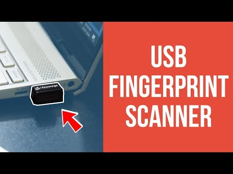 USB fingerprint reader | Fingerprint Login on Windows 10  | Works with Windows Hello