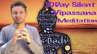 My 10 Day Silent Vipassana Meditation Experience - Ep 5