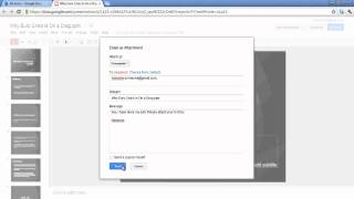 How to attach a document to an email in Google docs