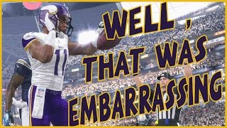 THE MOST EMBARRASSING START OF MY LIFE!! - Madden 16 Ultimate Team | MUT 16 XB1 Gameplay