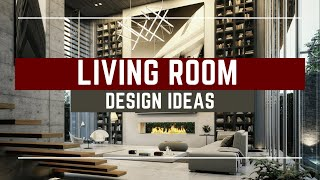 🔴 Modern Luxury Living Room Design Ideas