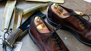 Cedar Shoe Trees, How To Avoid Creasing In Dress Shoes, And More - Q&A 14 | Kirby Allison