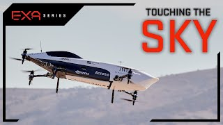 Electric Race Car Takes Flight | EXA Series | EXA Series