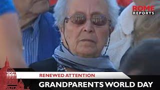 """Paus: """"Het gebed van de ouderen kan de wereld beschermen"""""""