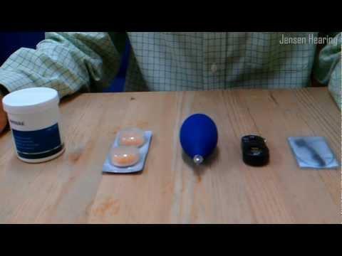 Hearing Aid Care (Menu)