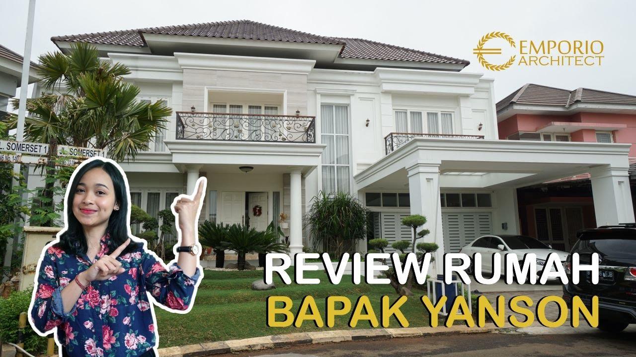 Video Hasil Konstruksi Desain Rumah Classic 2 Lantai Bapak Yanson Hutabarat