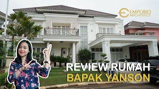 Video Hasil Konstruksi Rumah Classic 2 Lantai Bapak Yanson Hutabarat di  Cibubur, Jakarta