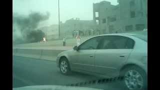 preview picture of video 'Dusty weather and Fiery vehicle on the road'