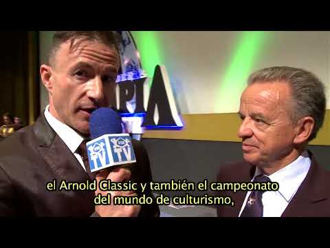 Interview IFBB President Mr. Rafael Santonja. Olympia Spain 2015