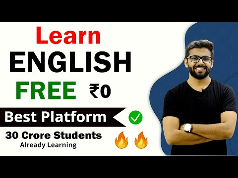 LEARN ENGLISH FOR FREE   30 Crore Students Already Learning   Best Platform to Learn English