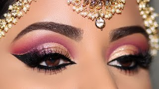 How To: STEP-BY-STEP INDIAN/ASIAN BRIDAL EYE MAKEUP TUTORIAL