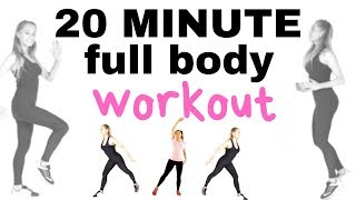 HOME FITNESS 20 MINUTE WEIGHT LOSS WORKOUT  TOTAL BODY AT HOME    BURNS CALORIES AND TONES YOU UP
