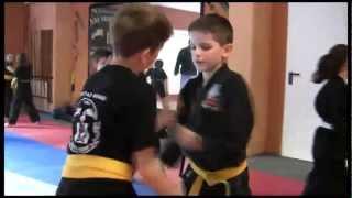 Kindertraining Kempo Karate